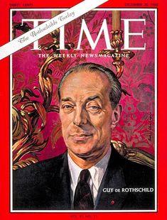 TIME Magazine Cover: Guy de Rothschild - Dec. 20, 1963