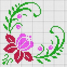 media content and analytics Beaded Cross Stitch, Cross Stitch Rose, Cross Stitch Borders, Cross Stitch Alphabet, Modern Cross Stitch Patterns, Cross Stitch Flowers, Cross Stitch Designs, Cross Stitching, Cross Stitch Embroidery
