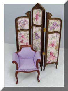 Elegant Courting Couch and Chair