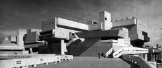 Hayward Gallery, South Bank, London, England, 1961-67(Greater London Council Architect's Department)