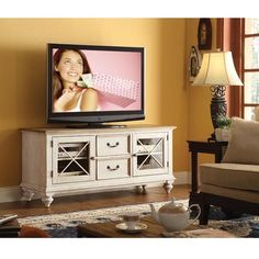 """Cape Cod 58"""" Tv Console - Welcome to Mealeys Furniture Store"""