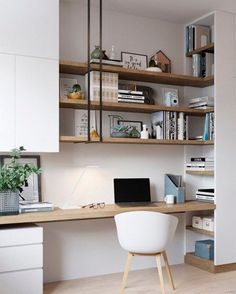 A little bit of home office/study nook inspiration... for some people, working from home is a necessary evil. For others, it's a welcome…
