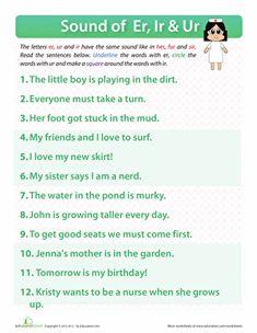 Grammar Sentences Worksheets Excel Long  Worksheets Phonics And Sentences Metric Mania Worksheet Excel with Plant Nutrition Worksheet Pdf Er Ir Ur Words Spelling Worksheetsreading  Diagramming Worksheets Excel