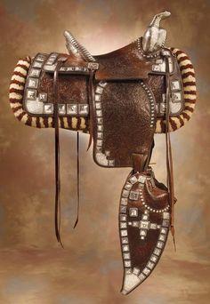 Ed Bohlin saddle