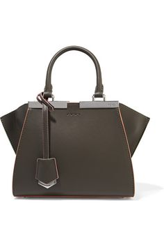 Fendi | 3Jours small leather tote | NET-A-PORTER.COM