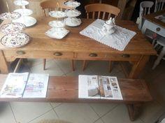 Large Pine Farmhouse Table £279