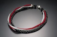 L Y N N E S A U S E L E - Three Strand Necklace