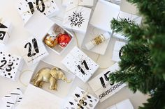 Printable advent calendar download