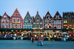 Brugge (Bruges), Belgium - a sweet surprise (pun intended).  Brugge has INCREDIBLE chocolate shops all over the cute little town.  Also, visit Da Halve Maan brewery for a tour which doubles as access to a beautiful view overlooking the city.
