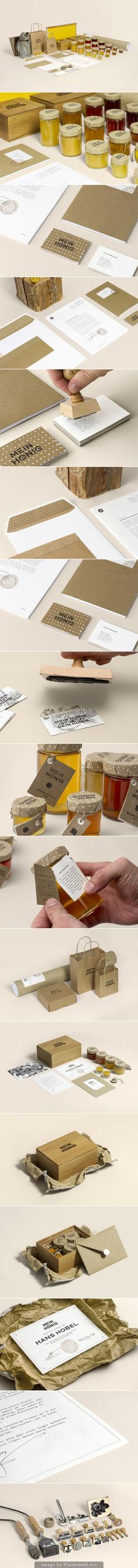 Mein Honig Honey – Brand Identity via Thomas Lichtblau