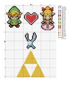 Zelda pattern