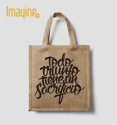 Bolsos de Tela con frases Shoping Bag, Eco Friendly Bags, Jute Bags, Tote Purse, Fun Crafts, Sewing Projects, Reusable Tote Bags, Coin Wallet, Tote Bags