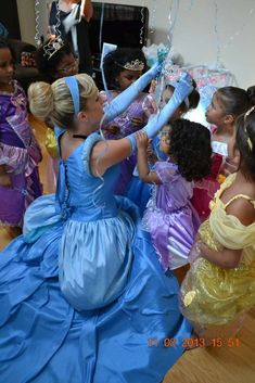 Cinderella Princess Birthday Party Ideas | Photo 18 of 28 | Catch My Party