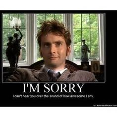 Allons-y Alonso Word of the Week Dr Who David Tennant Doctor Who Funny, Doctor Humor, Doctor Who Quotes, David Tennant, 12th Doctor, Don't Blink, Dr Who, Superwholock, Fangirl