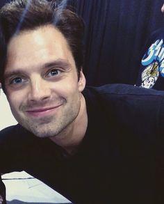 Cinnamon roll Sebastian.         Mmmmmmm I always love a man with blue eyes!!!