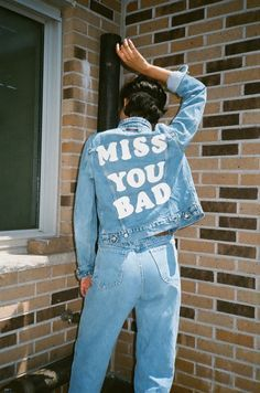 There's nothing better than customised denim jackets <3