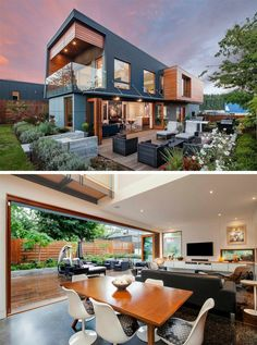 The Double High House in Nanaimo, British Columbia, designed by Checkwitch Poiron Architects.