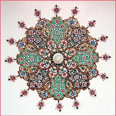 Pakistani art revolves around Islamic tiles. Thus the art in Saudi Arabia and Pakistan are very similar to due to the cultural influence on Pakistan from the Middle-East. Pakistani art can be very colorful and have a broader color palette unlike Saudi art that focuses on neutral shades.