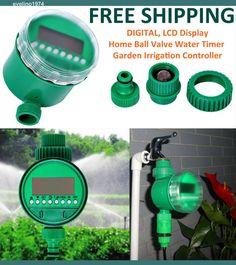 Digital (LCD) Solenoid Valve Electronic Water Timer,Garden Irrigation  Controller