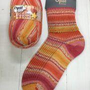 Opal 4ply Sock Yarn 100g -Colours in Love range - Dreamy Hearts