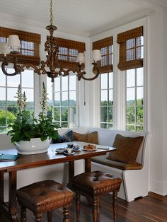 Traditional Kitchen Breakfast Nook Design, Pictures, Remodel, Decor and Ideas - page 47