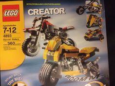 2006 LEGO CREATOR 8 IN 1 REVVIN' RIDERS 4893 Lego Creator, The Creator, Light Brick, Legos, Monster Trucks, Handmade, Lego, Hand Made, Craft