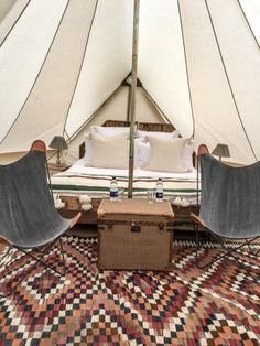 Bell Tents at Soho Farmhouse A Style Album
