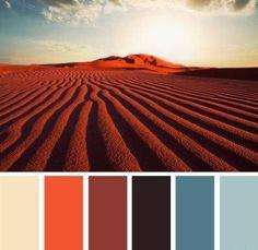 design seeds - choosing a colour pallette based on the photo - color dune Colour Pallette, Colour Schemes, Color Combos, Color Patterns, Coordination Des Couleurs, Web Design, Color Harmony, Design Seeds, Colour Board