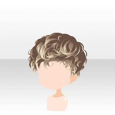 txtSearch=&part=&page Anime Curly Hair, Anime Boy Hair, Manga Hair, Manga Eyes, Anime Hairstyles Male, Boy Hairstyles, Drawing Male Hair, Chibi Hair, Pelo Anime