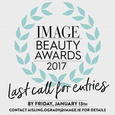 If you work or play in the world of beauty don't forget to send your chosen products in for the Image Beauty Awards 2017. These are exciting times! If you have a phenomenal product with a launch date between March 2016 and March 2017 we would love to hear about it. Closing date is Friday the 13th of January #beauty #makeup #hair #skincare #ImageBeautyAwards2017 #awards #bestofthebest #newlaunches #deadlineapproaches  via IMAGE MAGAZINE OFFICIAL INSTAGRAM - Celebrity  Fashion  Haute Couture…