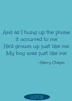 Harry Chapin Great Song Lyrics Lyrics To Live By Cool Lyrics