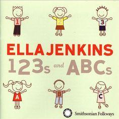 Ella Jenkins - 123s and ABCs (CD)