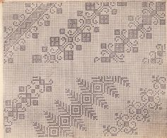 Model 1926 Embroidery Patterns, Knitting Patterns, Cross Stitch Freebies, Just Cross Stitch, Vintage Cross Stitches, Cross Stitching, Blackwork, Needlepoint, Quilts