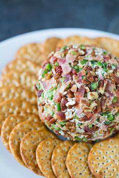 Bacon-Jalapeño Cheese BallReally nice recipes. Every hour.Show  Mein Blog: Alles rund um die Themen Genuss & Geschmack  Kochen Backen Braten Vorspeisen Hauptgerichte und Desserts