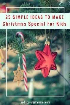 25 simple Christmas traditions to enjoy with your family! They are all really easy to set up and your kids will love them! Pin now and choose a couple to start this year!