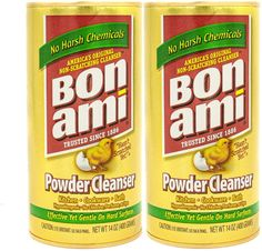 Bon Ami Powder Cleanser for Kitchens & Bathrooms - All Types of Surfaces, Cleans Grime & Dirt, Polishes Surfaces, Absorbs Odors Pack) Clean Stainless Sink, Best Stainless Steel Cleaner, Best Hardwood Floor Cleaner, Steel Kitchen Sink, Best Cleaner, Green Cleaning, Cleaning Tips, Food Waste, Natural Cleaning Products