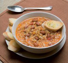 #Zuppa di #cavolo misto, la #ricetta