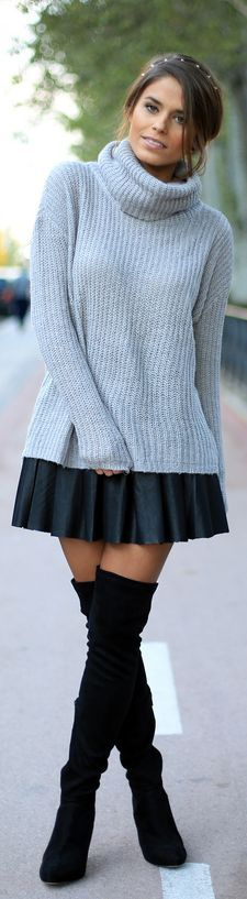 #Turtleneck by Seams For a Desire => Click to see what she wears