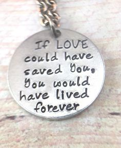 Pet Memorial Necklace Pet Loss Necklace If love could have Loki Tattoo, Pug Tattoo, Tattoos, Loss Of Dog, Pet Loss Gifts, Personalized Charms, Dog Memorial, Pet Memorials, Pet Names