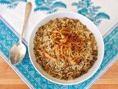 Learn to make mujadara in the traditional Indian style - fluffy white basmati rice, tender brown lentils, cumin & salt with caramelized onions.