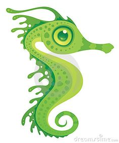 Buy Leafy Sea Dragon Seahorse by fizzgig on GraphicRiver. Vector cartoon illustration of a green leafy sea dragon seahorse. Seahorse Image, Seahorse Art, Seahorses, Dragon Seahorse, Seahorse Tattoo, Mermaid Tattoos, Weedy Sea Dragon, Dragon Images, Clips