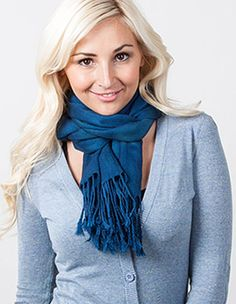 How To Tie a Scarf @ Scarves.com - numerous ways shown