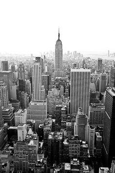 Manhattan New York city. Manhattan in New York City view in black and white , Manhattan Real Estate, Manhattan New York, Photography Essentials, City Photography, Landscape Photography, Photography Ideas, Photography Tutorials, Skyline Art, New York Skyline