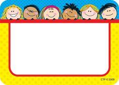 Free Printable Name Tags For KidsFun Coloring | Fun Coloring