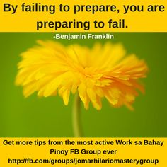 Hilario, Benjamin Franklin, Pinoy, Fails, Prepping, Thoughts, Group, Facebook, Words