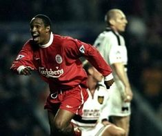 Paul Ince - played for both us and United. I didn't like him when he played for them.