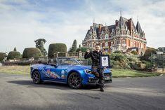 Abarth 124 e Alastair Moffat stabiliscono un nuovo record di - Motorzoom. Guinness World, World Records, Stunts, Vehicles, Spider, Models, Times, Cars, Organization