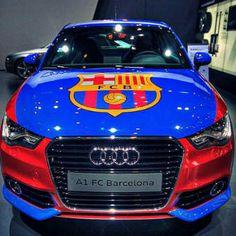 Barca Wheels # 3 - Audi A1 FC Barcelona - Ultimate Barca Toy