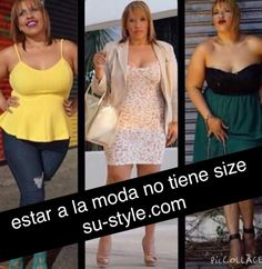 Estar a la moda no tiene size! www.su-style.com Plus Size Fashion, Style, Swag, Stylus, Plus Size Clothing, Plus Sizes Fashion, Curvy Girl Fashion, Plus Size Fashions