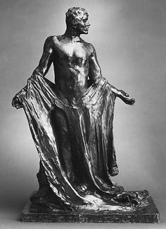 Auguste Rodin (French, Paris 1840–1917 Meudon) This work reflects an intermediate study of one of the six Burghers represented in Rodin's Monument to the Burghers of Calais, commissioned by the municipal Council of Calais in 1884 and erected in 1885